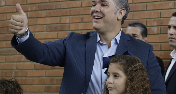 Ivan Duque remporte l'élection présidentielle colombienne