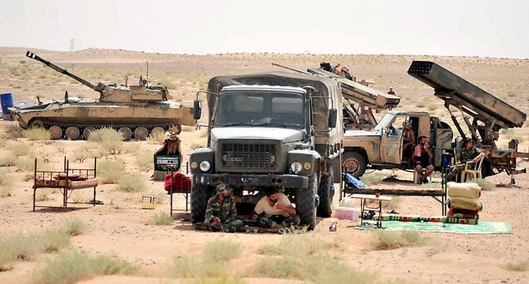 Les Etats-Unis accusés d'avoir tiré sur des positions syriennes