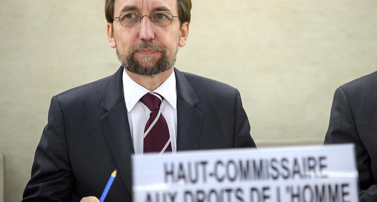 Zeid dénonce le silence à l'ONU sur le retour des nationalismes