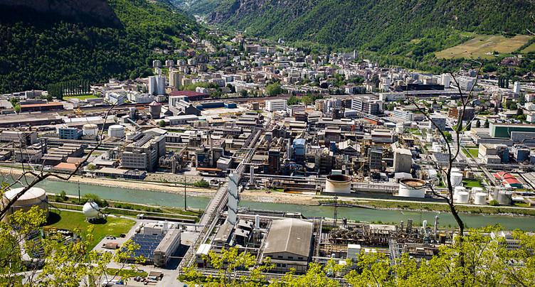 Procès valaisan contre Lonza pour une pollution des eaux