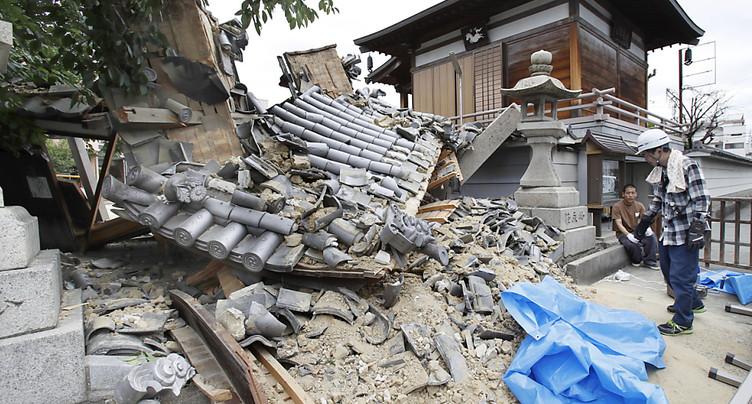 Trois morts au Japon dans un puissant séisme