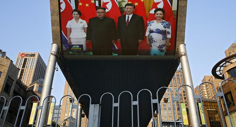 Kim Jong Un a rencontré le président chinois Xi Jinping à Pékin