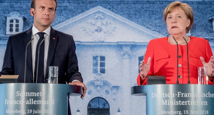 UE: Berlin et Paris veulent un budget commun pour la zone euro