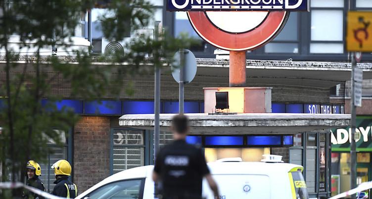 Explosion « mineure » dans le métro londonien après un court-circuit