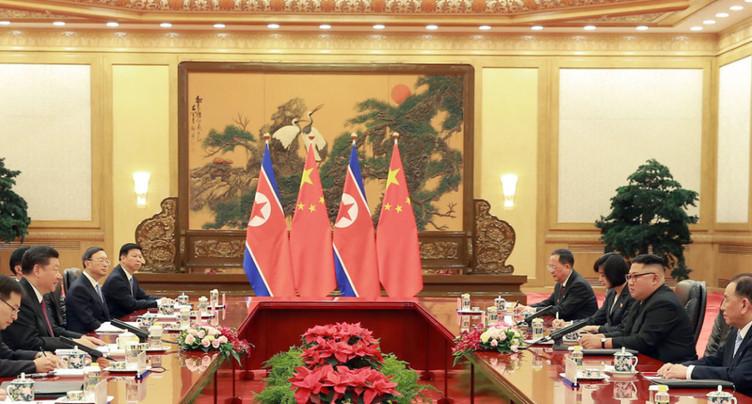 Kim Jong Un vante « l'unité » avec la Chine