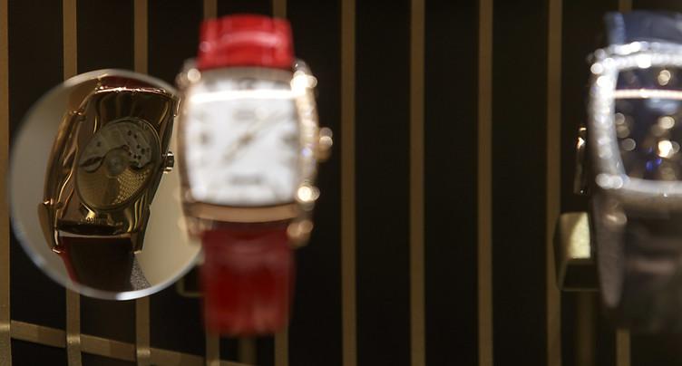 Les exportations horlogères poursuivent leur avancée en mai