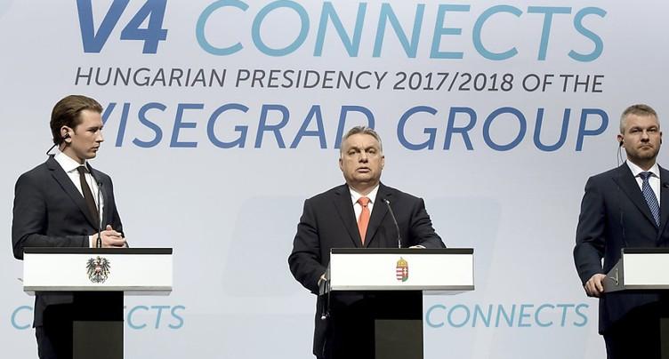 Immigration: les pays de Visegrad boycotteront le sommet européen de dimanche