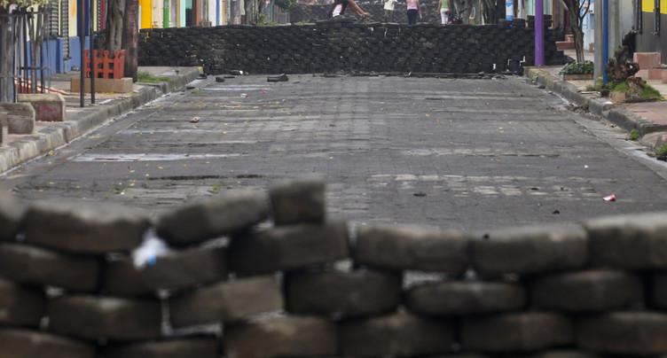 Nicaragua : nouvel assaut des forces de l'ordre contre Masaya