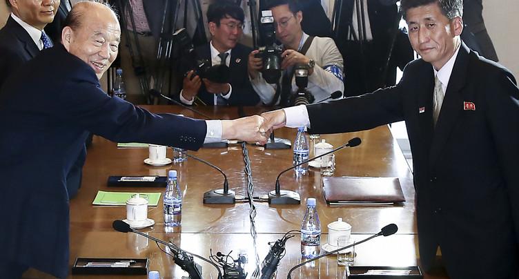 Les deux Corées discutent des retrouvailles des familles séparées