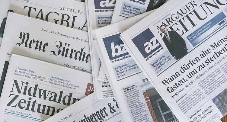 La fusion entre NZZ et AZ Medien prend le nom de CH Media
