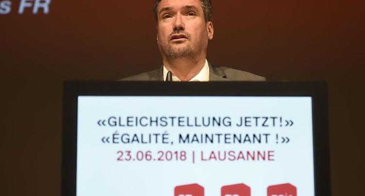 Lausanne: Christian Levrat tire à boulets rouges sur Ignazio Cassis