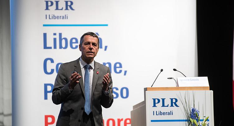 Relations Suisse-UE au coeur des discussions des délégués du PLR