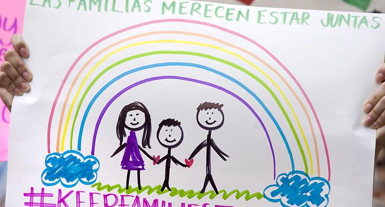 Aux Etats-Unis, 522 enfants ont retrouvé leurs parents sans papiers