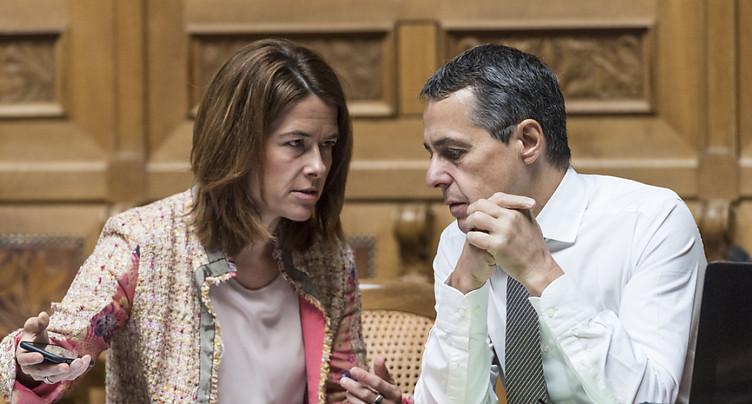 La présidente du PLR monte au front pour défendre Ignazio Cassis