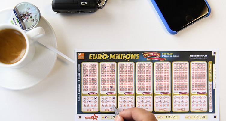 Euro Millions: un joueur remporte près de vingt millions de francs