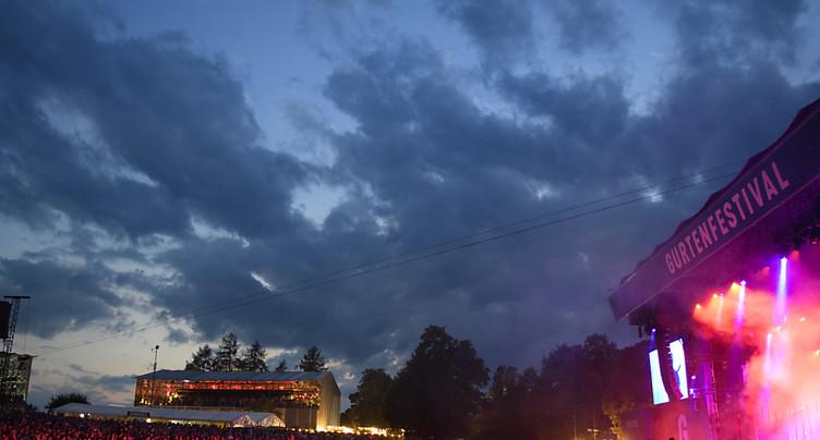 Berne: 77'000 personnes ont afflué au 35e Gurten Festival