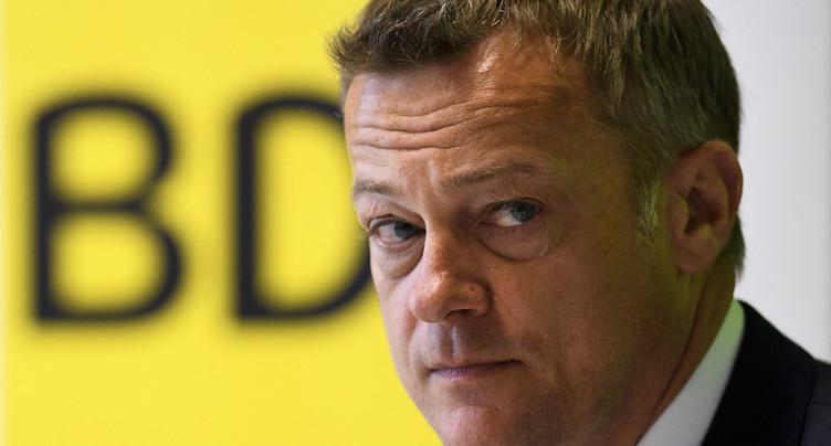 Le président du PBD Martin Landolt quittera son poste en 2020