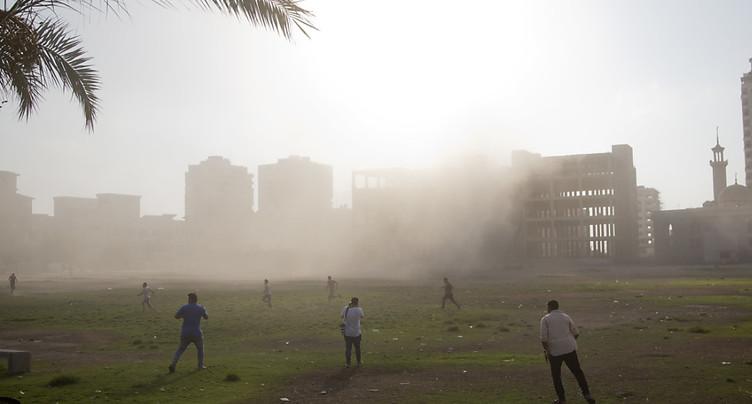 Raid aérien israélien contre des cibles du Hamas à Gaza