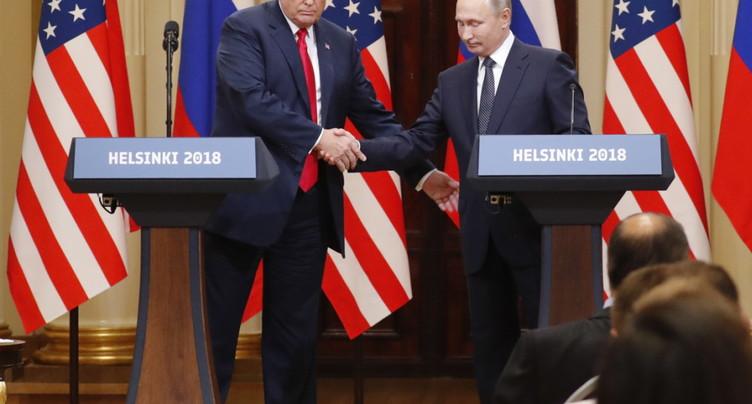 Trump refuse d'affronter Poutine sur l'ingérence électorale