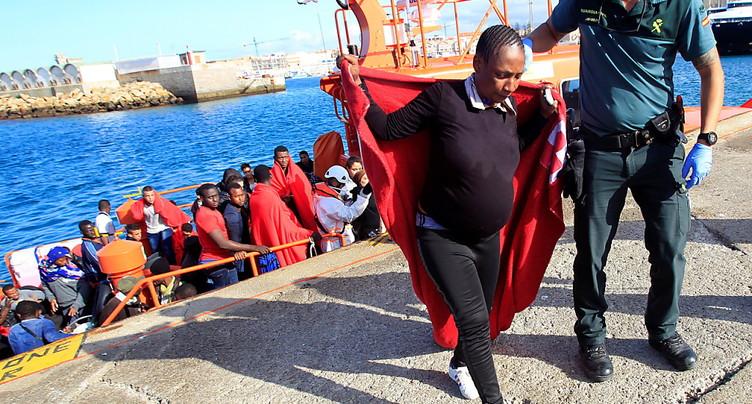 L'Espagne dépasse l'Italie en arrivées de migrants par mer (ONU)