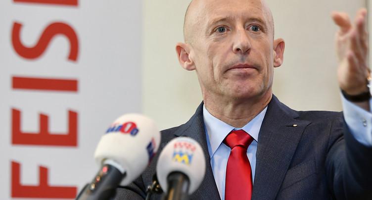 Patrik Gisel quitte la direction de Raiffeisen
