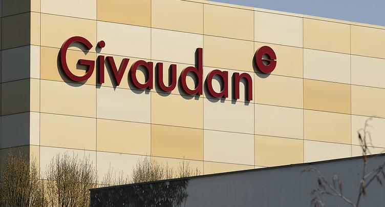 Givaudan subit un recul du bénéfice mais réalise de bonnes ventes