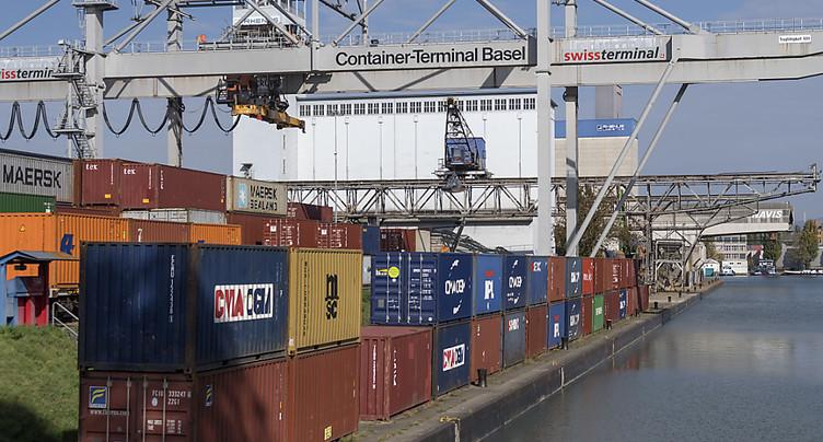 Le commerce extérieur suisse reste dynamique au 2e trimestre