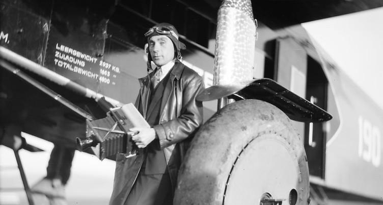 Exposition sur le photographe volant Walter Mittelholzer