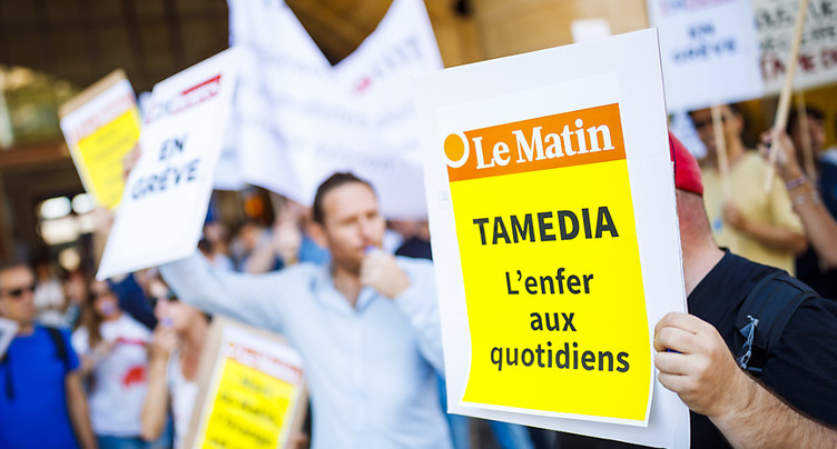 L'option du maintien du Matin papier définitivement abandonnée