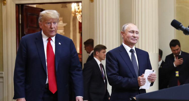 Discussions « en cours » pour un sommet Trump/Poutine à Washington
