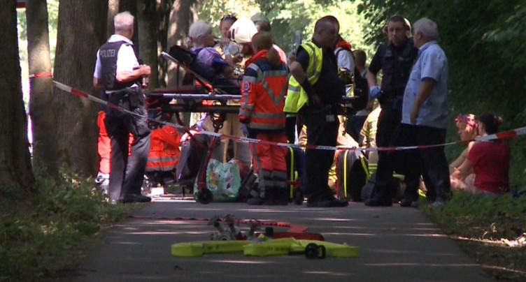 Des blessés après une attaque au couteau à Lübeck, l'auteur arrêté