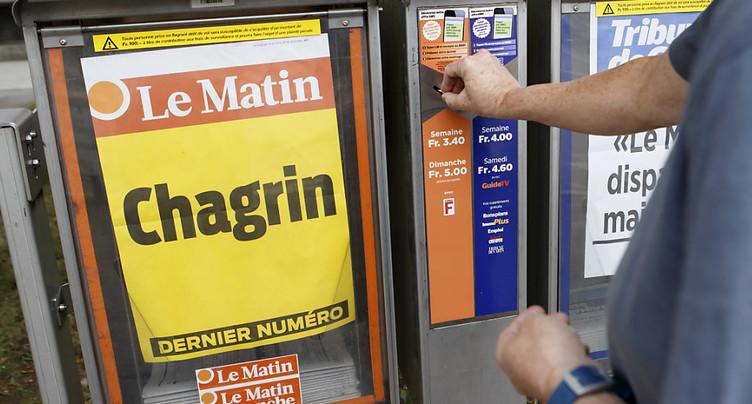 « Tchô bonne »: Le Matin tire sa révérence en 64 pages