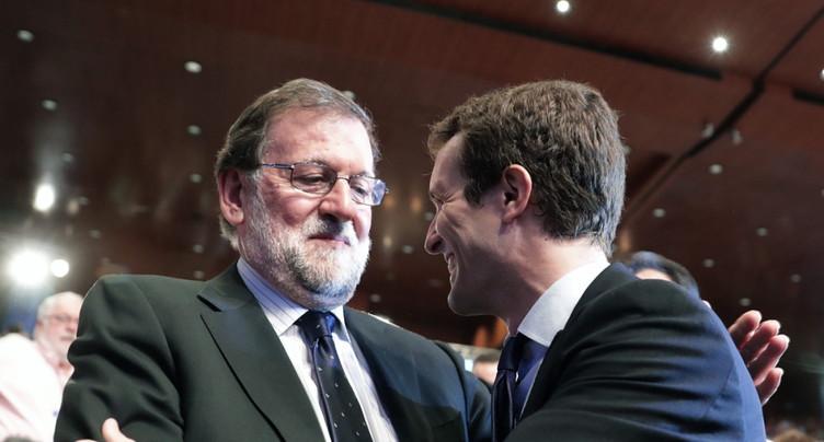 Pablo Casado prend la tête du Parti populaire