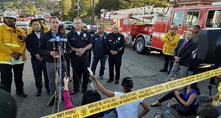 Une fusillade éclate à Los Angeles: le suspect arrêté, un mort