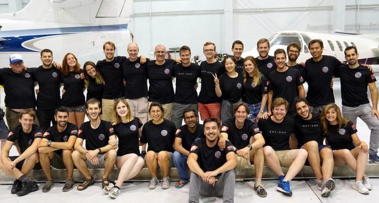 L'équipe de l'EPFL termine troisième au concours « Hyperloop »