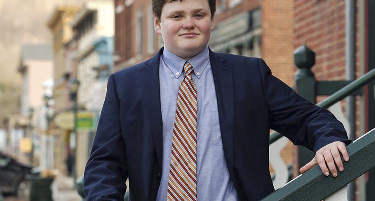 A 14 ans, Ethan Sonneborn brigue le poste de gouverneur du Vermont