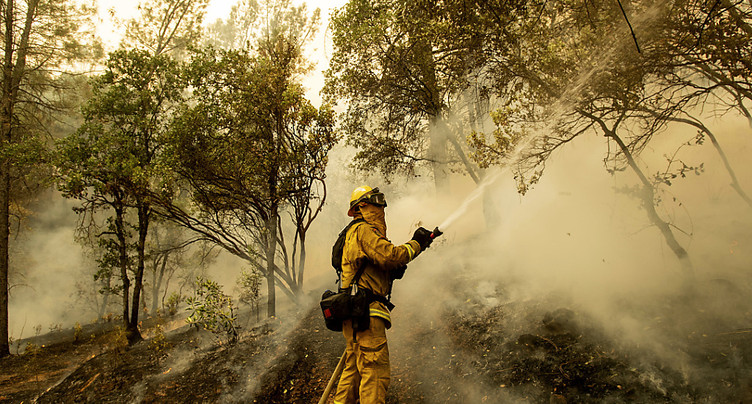 Les pompiers progressent contre les incendies en Californie