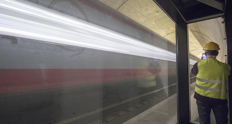 Les CFF se disent satisfaits du nouveau tunnel du Gothard