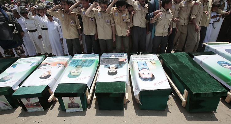 Yémen: 51 morts, dont 40 enfants, dans l'attaque attribuée à la coalition