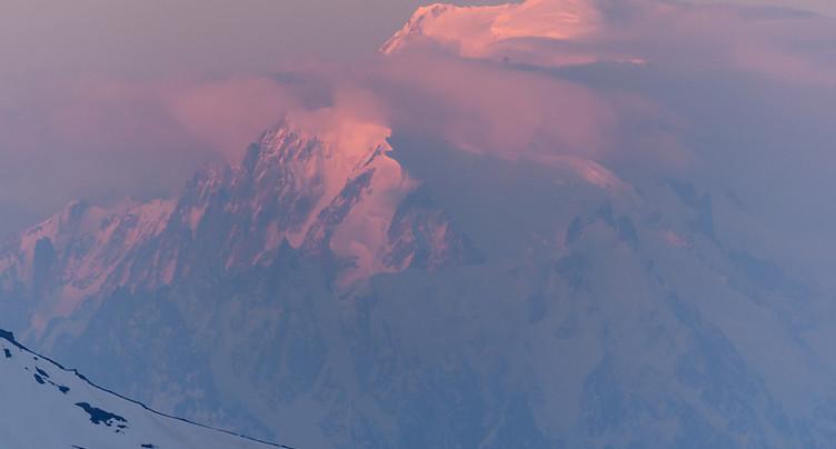 Les alpinistes peuvent à nouveau grimper sur le Mont Blanc