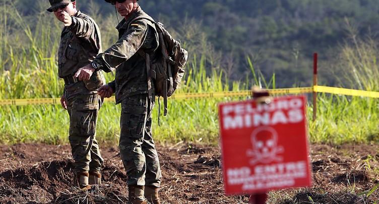 Colombie: le nombre de victimes de mines antipersonnel a presque doublé en 2018