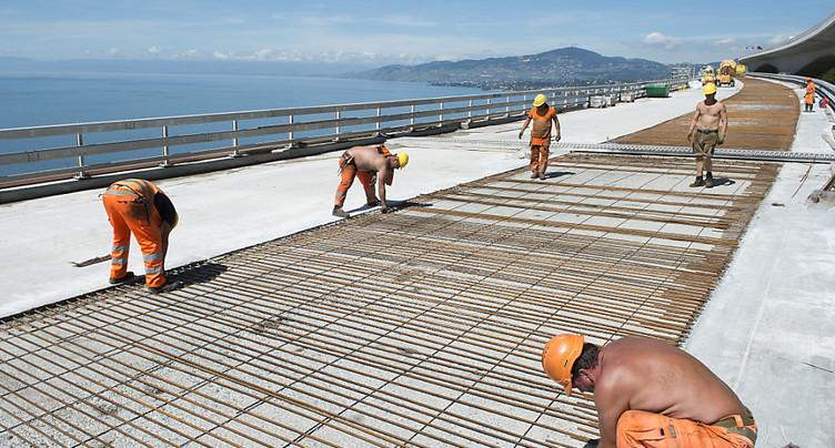 Les ponts suisses des années 1960 ne représentent pas de danger