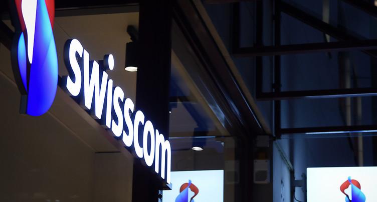 Swisscom confiant pour 2018 au terme de son premier semestre