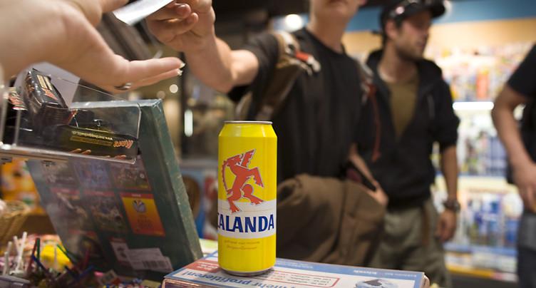 Toujours trop de ventes illégales d'alcool à des jeunes