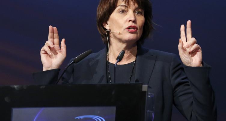 Leuthard: Berne doit négocier avec Bruxelles pour son propre bien