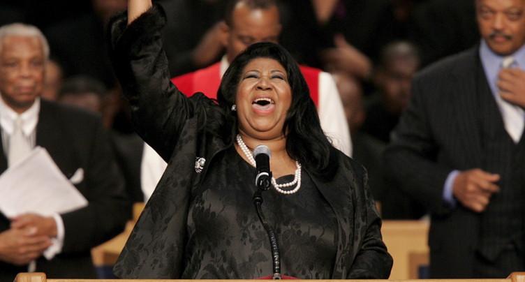 La chanteuse Aretha Franklin, « la reine de la soul », est décédée
