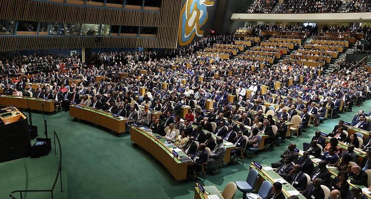 « Pétition vivante » à l'ONU à l'adresse des dirigeants mondiaux