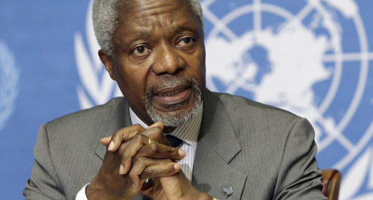 Décès de l'ancien secrétaire général de l'ONU Kofi Annan