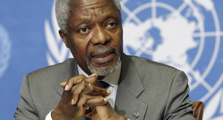 Décès de l'ancien secrétaire général de l'ONU Kofi Annan
