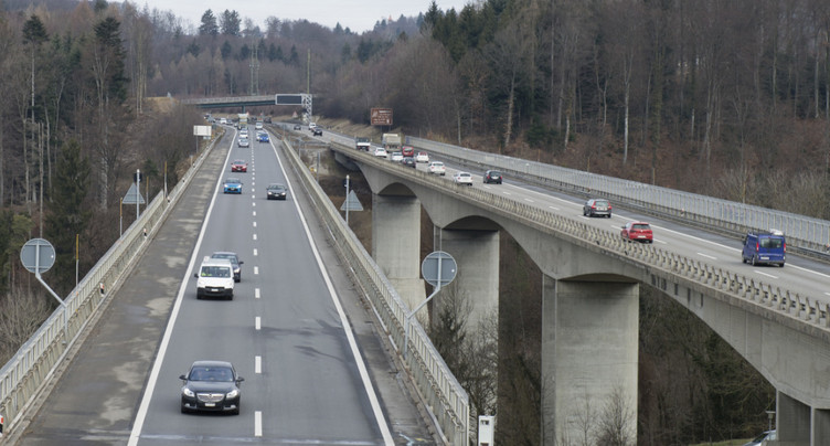 Un pour cent des ponts suisses dans un état critique, selon l'OFROU